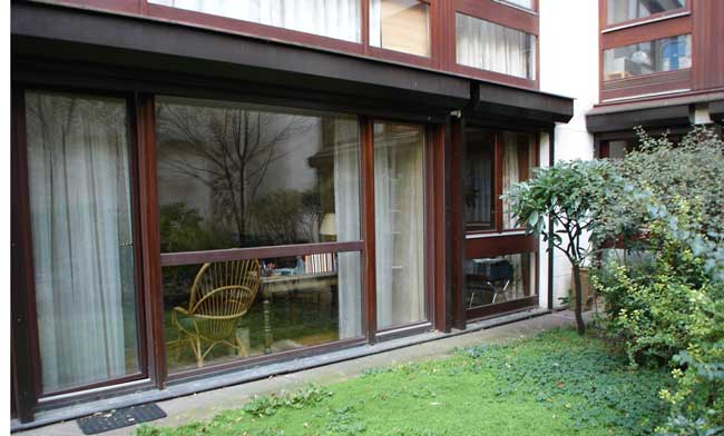 vente en viager occup d 39 un appartement avec jardin privatif dans le quartier latin paris 5 me. Black Bedroom Furniture Sets. Home Design Ideas