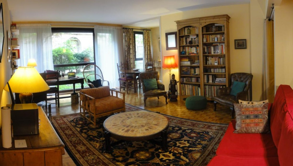 Vente en viager occup d 39 un appartement avec jardin for Location appart meuble paris